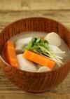 「噛む」ことを意識!根菜の白味噌汁