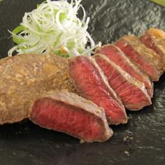 北海道産牛肉の味噌漬け焼き