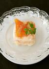 季節のデザート!柿のフローズンヨーグルト