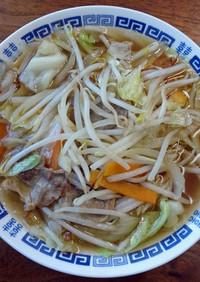 タンメン風醤油味