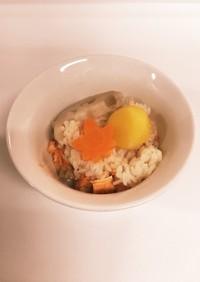 ❁土鍋で♡栗と甘鮭の炊き込みご飯❁