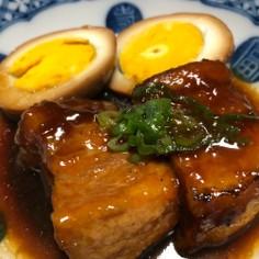 豚の角煮【男の簡単煮込み料理】