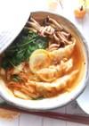 餃子のキムチ鍋