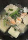海老と高野豆腐の蕪すりながし