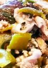 豚肉&ピーマン&茄子の味噌炒め