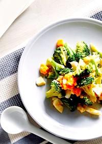 ブロッコリーのお浸し活用✨味噌マヨサラダ