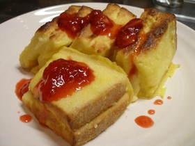 クリーミーチーズフレンチトースト