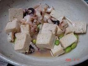 豆腐とゲソの塩焼き