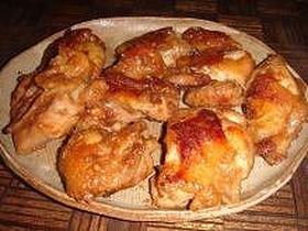チキンの味噌風味照り焼き
