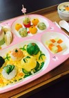 ○○離乳食用手まり寿司○○