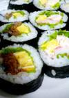 男の子好きな巻き寿司 恵方巻にいかが?