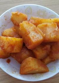 [韓国料理] じゃがいも辛煮