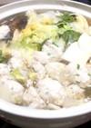 しょうがたっぷり✨鶏団子鍋