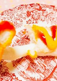 食パン☆チーズドッグ(トースター)