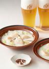 帆立と白菜の中華風クリーム鍋