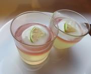 冬瓜と島レモンのゼリーの写真