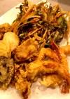 〓天ぷら&サクサクで絶品かき揚げ〓
