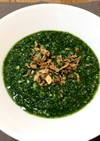 レンジフープロでほうれん草と大根のスープ