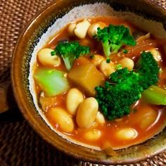 免疫力UP★味噌トマトde健康スープ