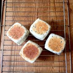 ホットプレートで焼く四角いパン