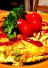 ポテトと枝豆のトルティージャ(オムレツ)