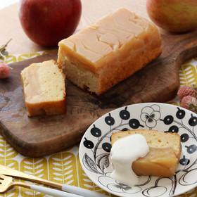 タルトタタン風 林檎のパウンドケーキ