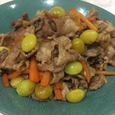 失敗なし☆豚肉と銀杏と野菜の炒め物