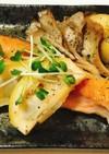 鮭のムニエル簡単レモンソース添え