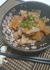 短時間で味染み◎豚バラ大根の甘辛煮