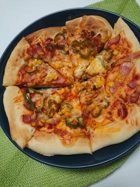 【簡単】市販のピザ粉で◎基本のピザ