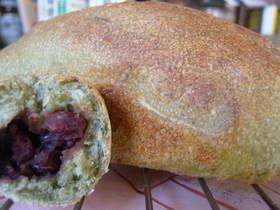 よもぎ食パン・・・天然酵母のパン