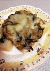 コブ納豆のトースト