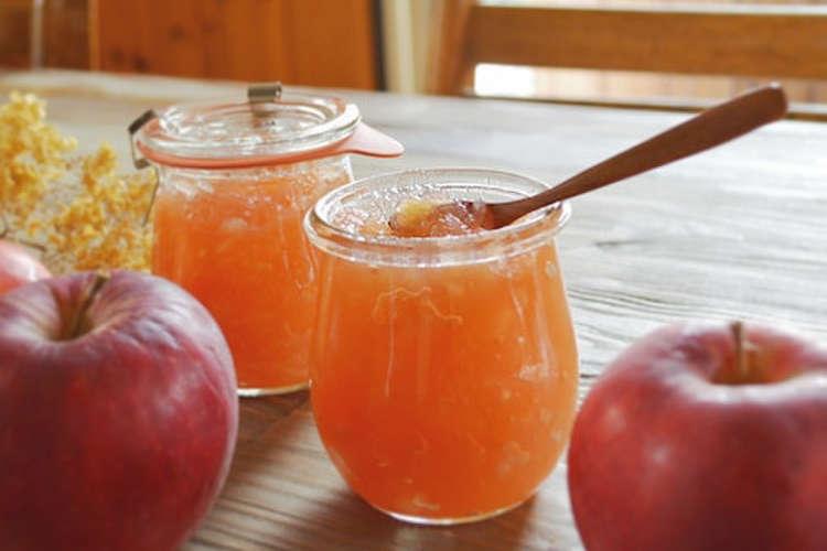 作り方 りんご ジャム