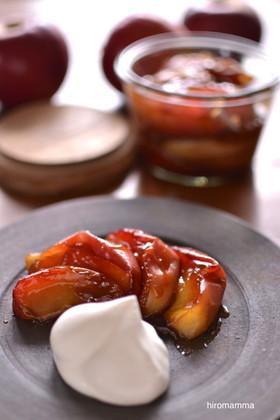 りんごのカラメル煮