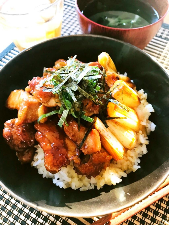 ニュースに掲載☆家庭の美味しい焼き鳥丼