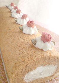 春香る✿桜ロールケーキ*2