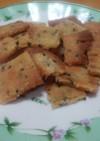 米粉とおからの胡麻クッキー