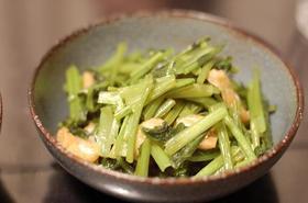 かぶの葉と油あげのお惣菜