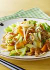 15分で簡単 ソースで作る野菜炒め