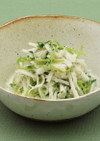大根と豆苗の明太マヨネーズサラダ