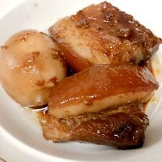 炊飯器でポチっと簡単トロトロ豚角煮*
