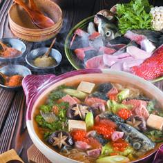 ★紅鮭のアツアツ海鮮鍋★