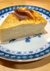 熟れた柿のヘルシーチーズケーキ風