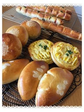 基本の菓子パン生地