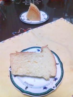 シュワシュワシフォンケーキ