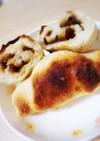 ふじっ子煮 生姜こんぶのロールパン
