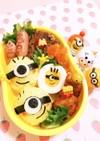 簡単★キャラ弁おかず♡茹で卵deミニオン