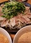 簡単レンジで蒸し豚❗ガチで2種類のソース