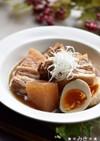 圧力鍋で豚バラと大根の煮物♪