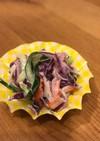 お弁当に★カニカマサラダお好み野菜と♪